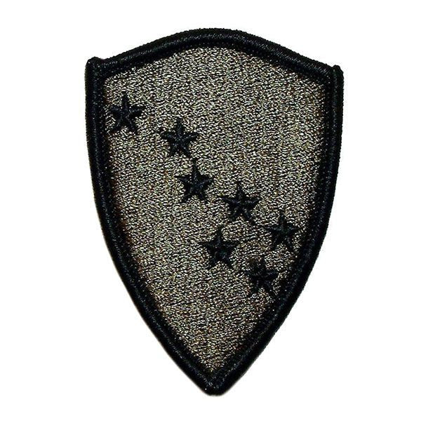 OLD STYLE BDU Army Patch: Alaska National Guard - embroidered on subdued (NON-RETURNABLE)