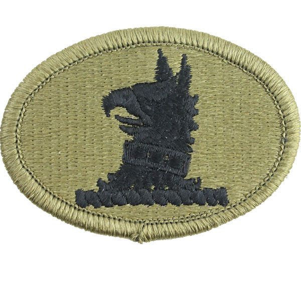 Army Patch: Delaware National Guard - embroidered on OCP