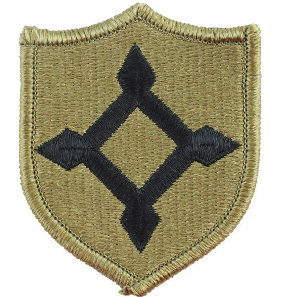 Army Patch: Florida National Guard - embroidered on OCP