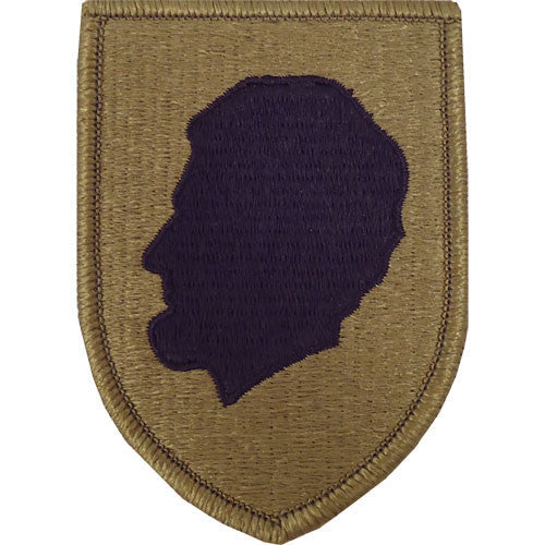 Army Patch: Illinois National Guard - embroidered on OCP