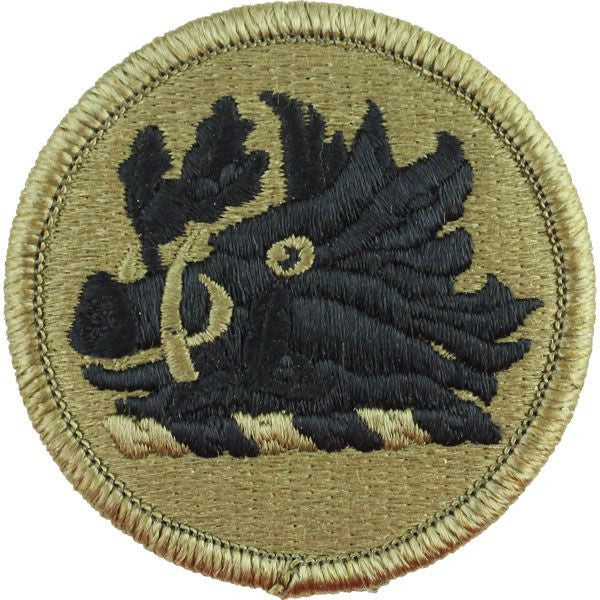 Army Patch: Georgia National Guard - embroidered on OCP