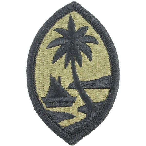 Army Patch: Guam National Guard - embroidered on OCP