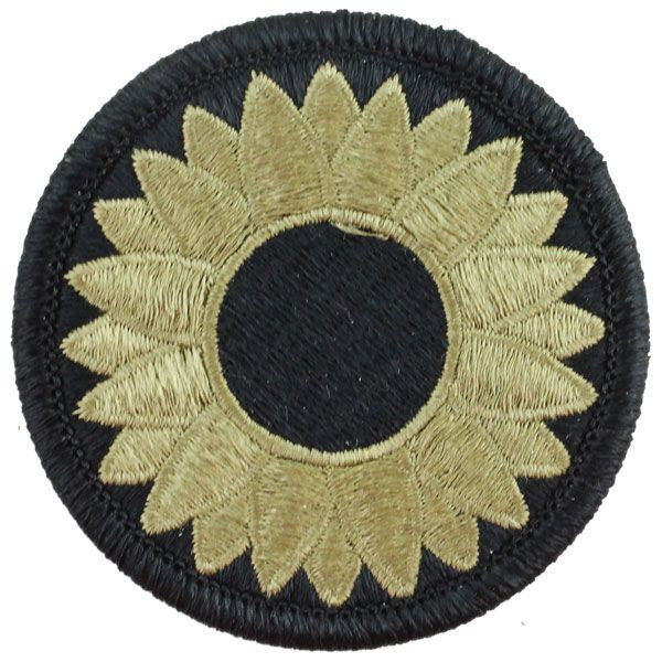 Army Patch: Kansas National Guard - embroidered on OCP