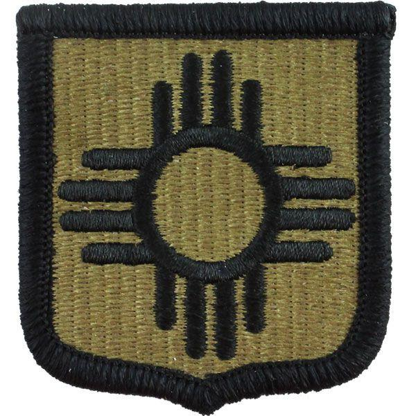 Army Patch: New Mexico National Guard - embroidered on OCP