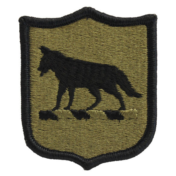 Army Patch: South Dakota National Guard - embroidered on OCP