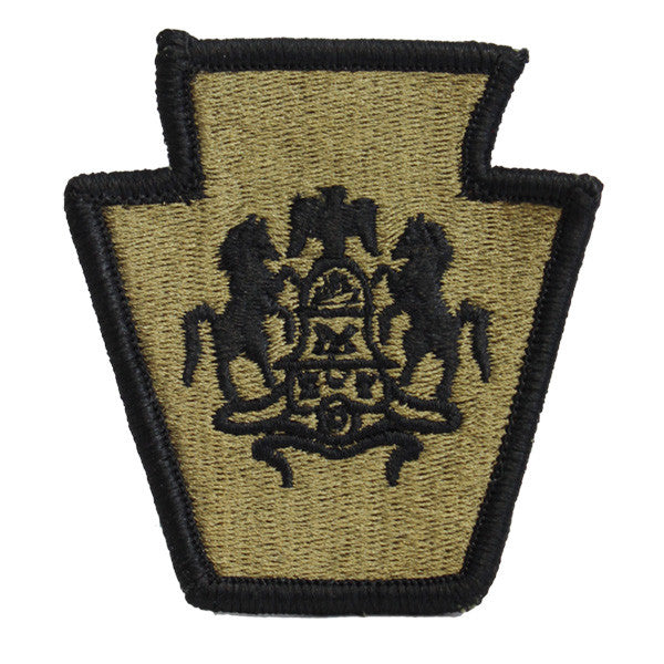 Army Patch: Pennsylvania National Guard - embroidered on OCP