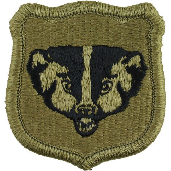 Army Patch: Wisconsin National Guard - embroidered on OCP