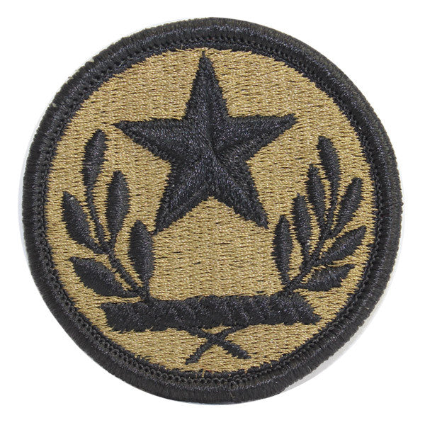 Army Patch: Texas National Guard - embroidered on OCP