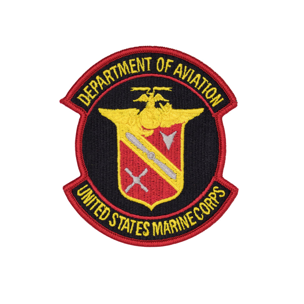 Marine Corps Patch: USMC Department of Aviation Full Color