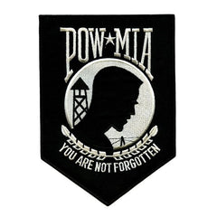 Patch: POW MIA - black