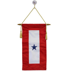 Flag: Service Banner with One Blue Star
