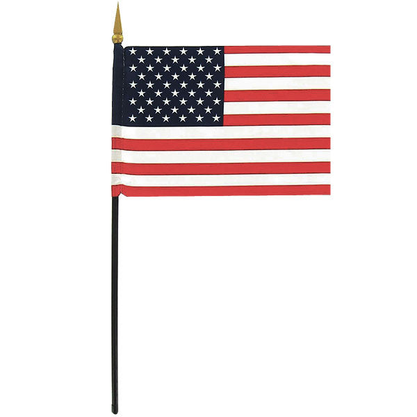 Flag: American Flag - 4 by 6 inches