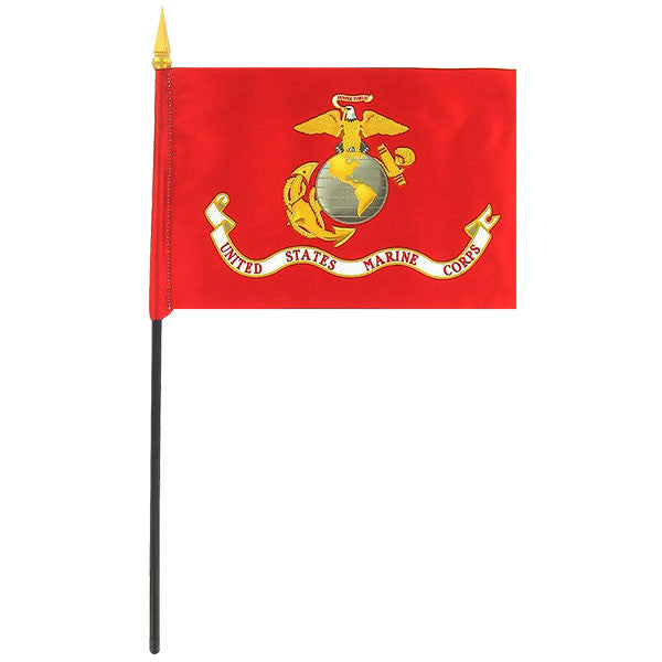 Marine Corps Flag - 4 by 6 inches