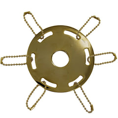 Streamer Suspension Ring: Gold
