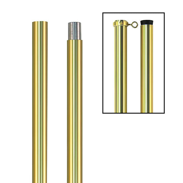 Flag Pole: Anodized - 8 foot
