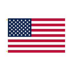 American Flag: United States of America - Nylon w/embroidered stars