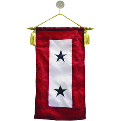 Flag: Service Banner with Two Blue Stars