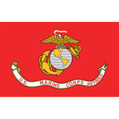 Marine Corps Flag: USMC Retired