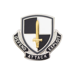 Army Corps Crest: Cyber Regiment - Defend Attack Exploit