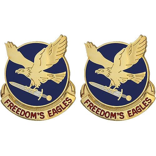 Army Crest: 17th Aviation Brigade Motto: Freedom's Eagles