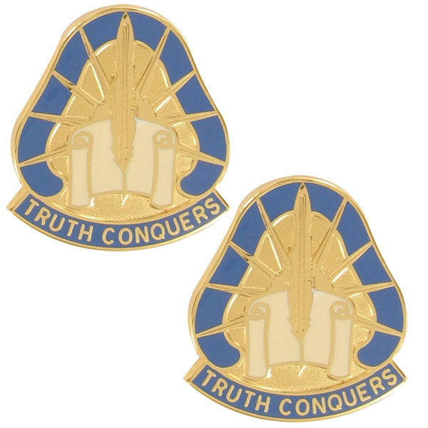 Army Crest: 108th Military Intelligence Group - Truth Conquers