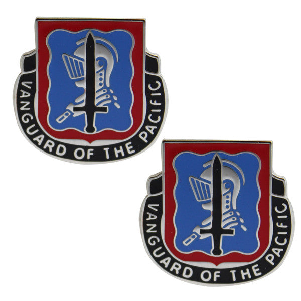 Army Crest: 368th Military Intelligence Battalion - Vanguard of the Pacific