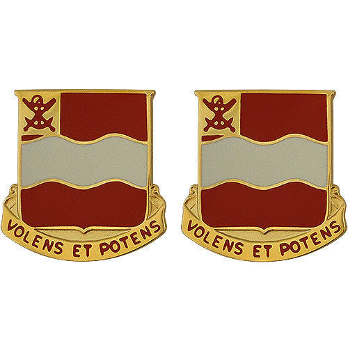 Army Crest: 4th Engineer Battalion - Volens Et Potens