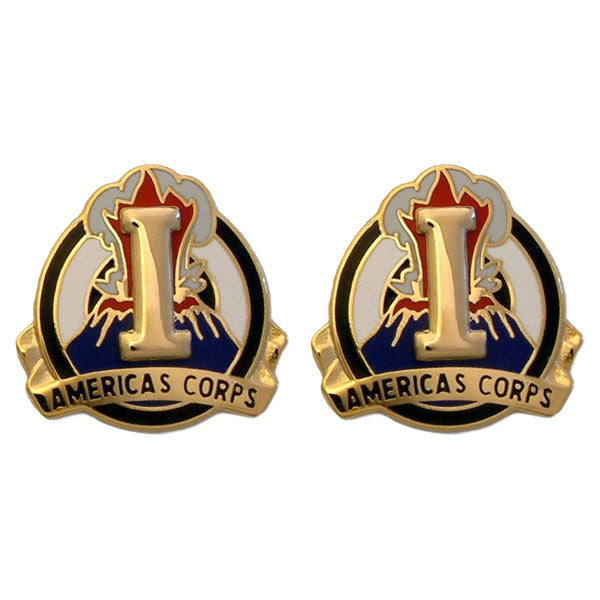 Army Crest: I Corps - Americas Corps