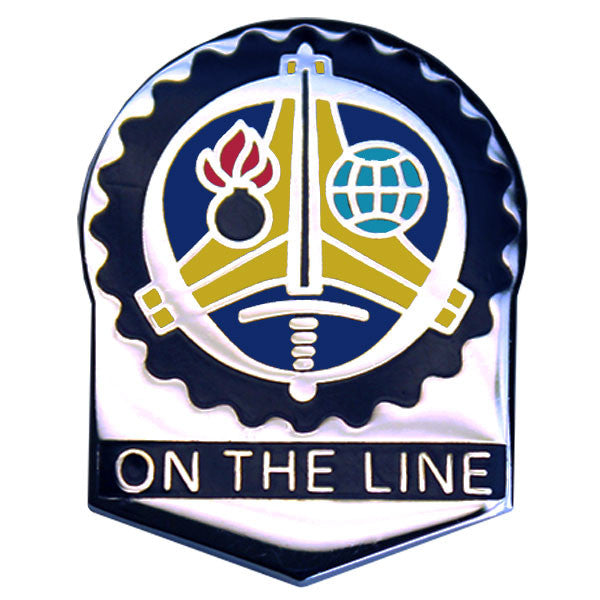 Army Crest: Us Army Sustainment Command - On the Line