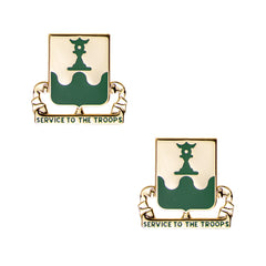 Army Crest: 519th Military Police Battalion - Service To The Troops