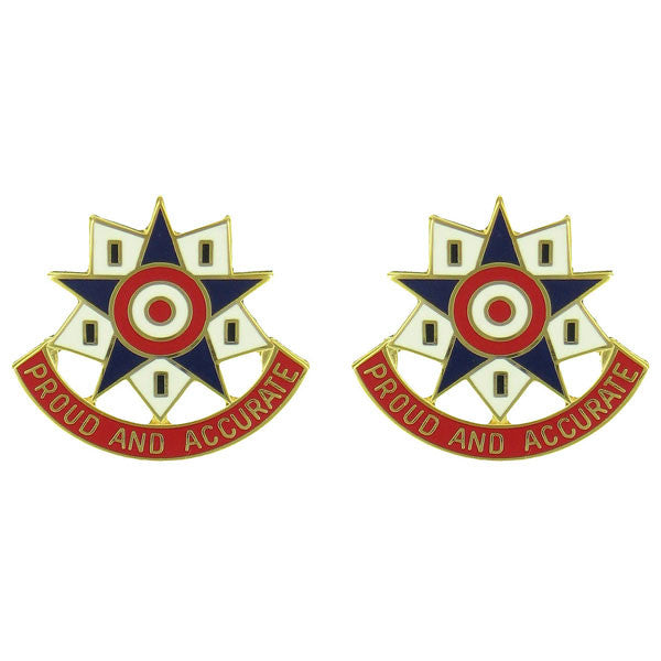 Army Crest: 376th Personnel Services Battalion - Proud and Accurate