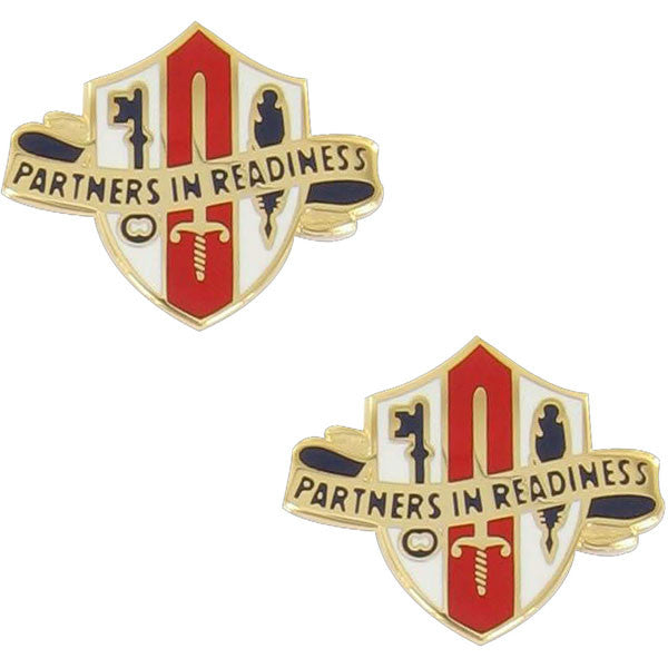 Army Crest: Army Reserve Joint and Special Troops Support Command