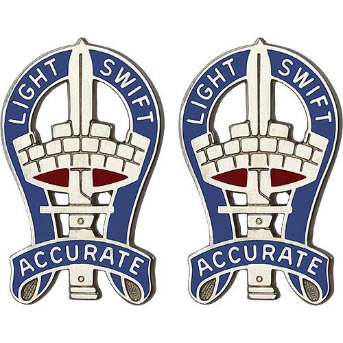 Army Crest: 199th Infantry Brigade - Light Swift Accurate