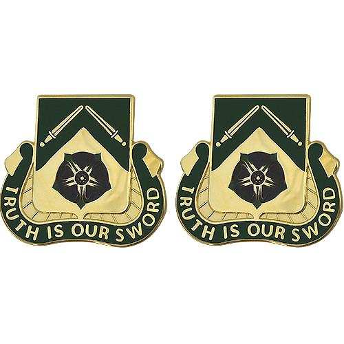 Army Crest: 19th Military Police Battalion - Trust is Our Sword