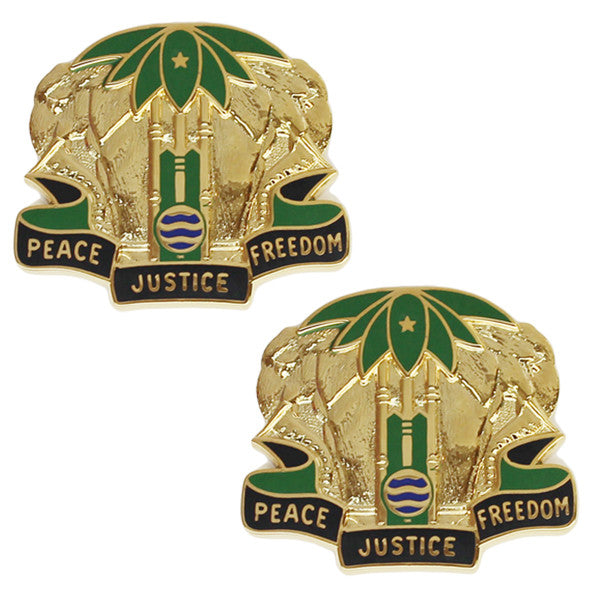 Army Crest: Military Police Battalion - Peace Justice Freedom