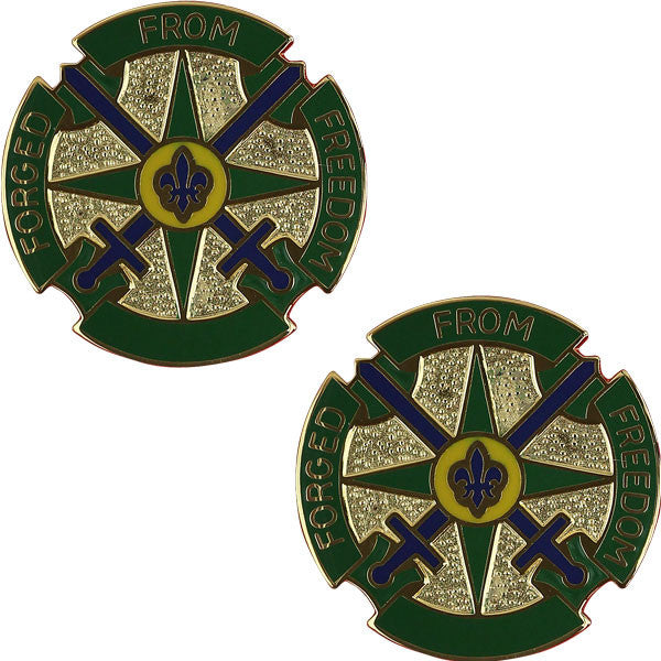 Army Crest: 49th Military Police Battalion - Forged From Freedom