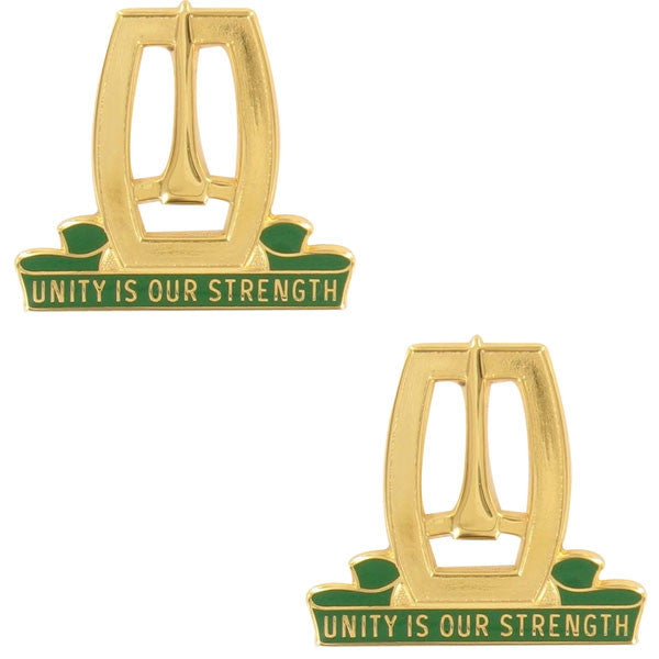Army Crest: 96th Military Police Battalion - Unity is Our Strength
