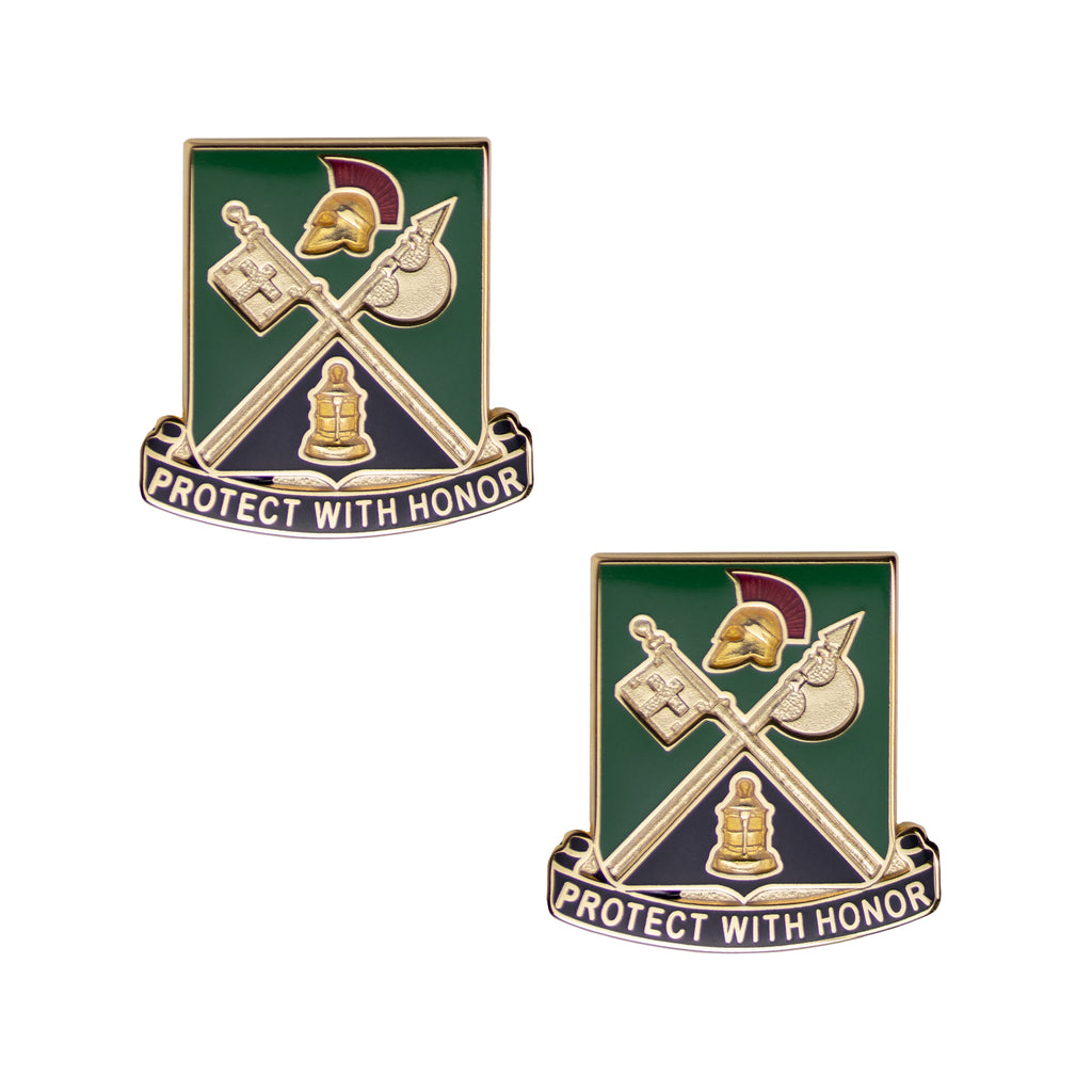 Army Crest: 143rd Military Police Battalion - Protect With Honor