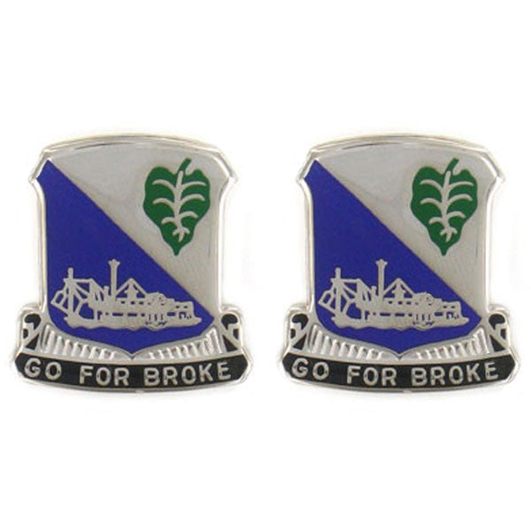 Army Crest: 442nd Infantry Regiment - Go for Broke