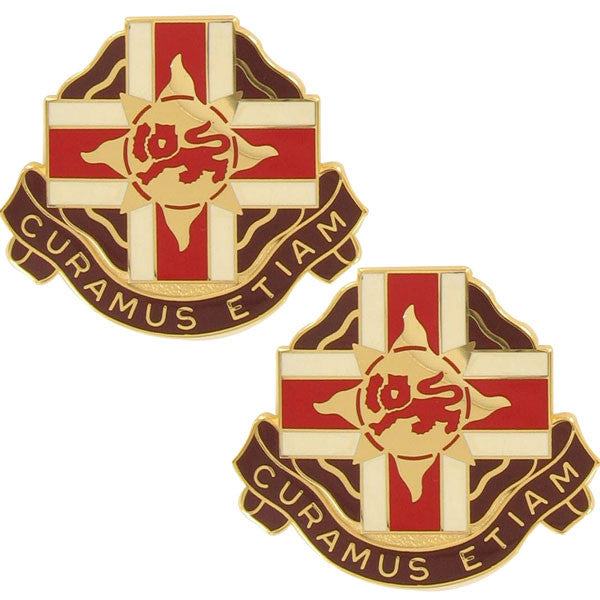 Army Crest: 324th Combat Support Hospital - Curamus Etiam