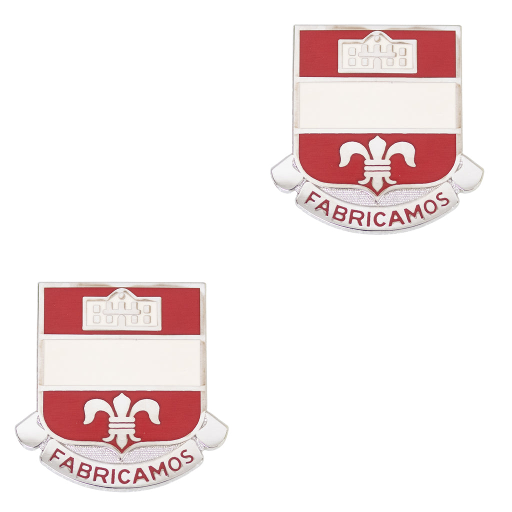 Army Crest: 315th Engineer Battalion Motto: Fabricamos