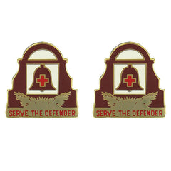 Army Crest: 349th General Hospital - Serve The Defender