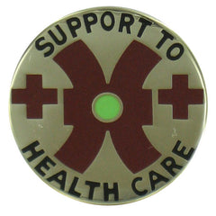 Army Crest: 16th Medical Battalion - Support to Health Care