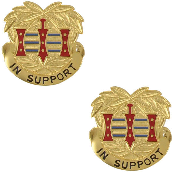 Army Crest: 394th Quartermaster Battalion - In Support