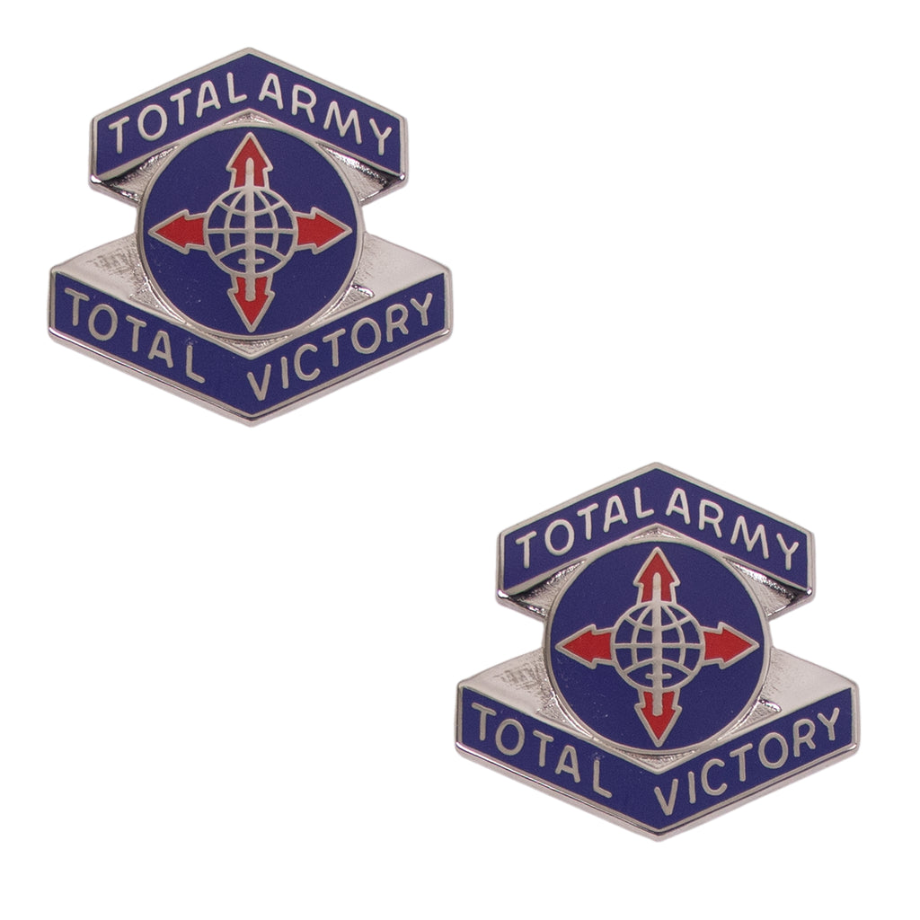 Army Crest: Human Resources Command - Motto: Total Army Total Victory