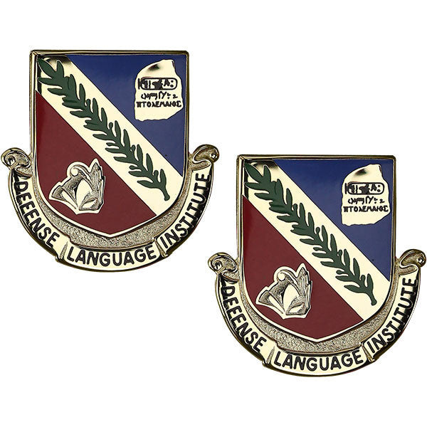 Army Crest: Defense Language Institute Foreign Language Center