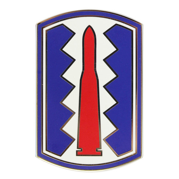Army Combat Service Identification Badge (CSIB):  197th Infantry Brigade