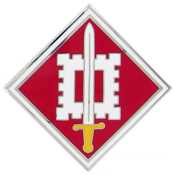 Army Combat Service Identification Badge (CSIB): 18th Engineer Brigade