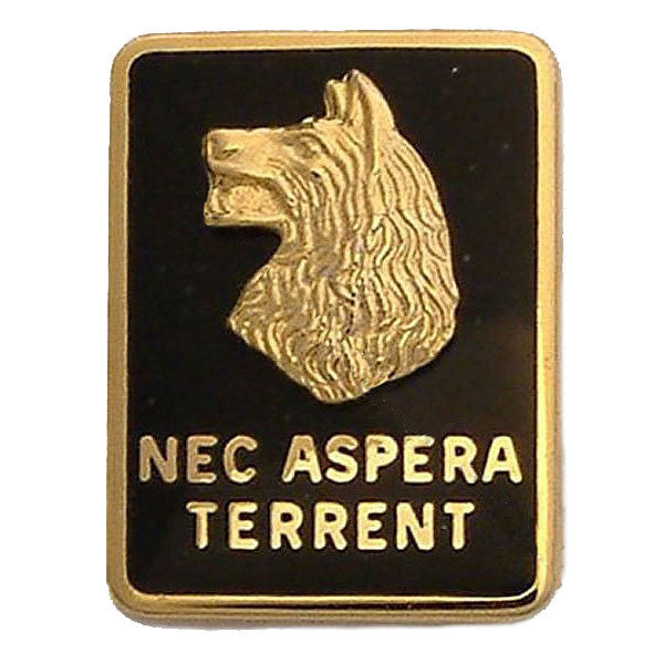 Army Crest: 27th Infantry Regiment - Nec Aspera Terrent, left side
