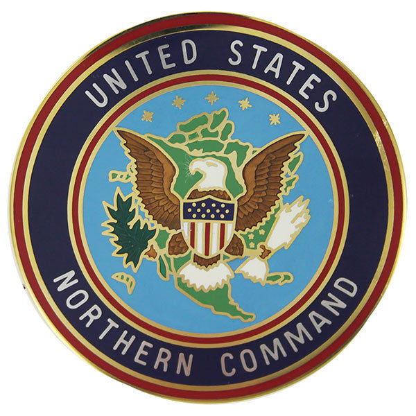 Identification Badge United States Northern Command: Large